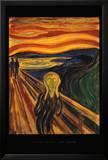 The Scream, c.1893 Print by Edvard Munch