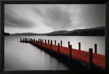 Wooden Landing Jetty-Red Posters