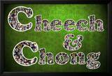 Cheech and Chong Mosaic Logo Movie Poster Posters