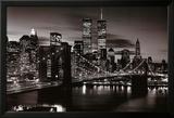 Brooklyn Bridge - B&W Plakat