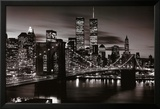 Brooklyn Bridge - B&W Poster