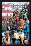 DC Comics - Justice League Cover Stampe