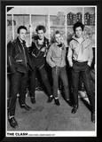 The Clash - London 1977 Kunstdruck