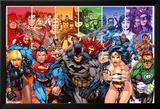 DC Comics - Justice League Of America - Generation Kunstdrucke