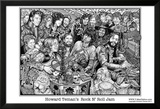 Rock N' Roll Jam Plakater af Howard Teman