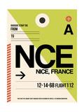 NCE Nice Luggage Tag 2 Kunst af  NaxArt