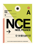 NCE Nice Luggage Tag 2 Posters by  NaxArt