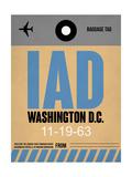 IAD Washington Luggage Tag 1 Prints by  NaxArt