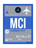 MCI Kansas City Luggage Tag 2 Posters af  NaxArt