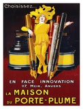 La Maison du Porte-Plume, 1924 Posters by Jean D'Ylen