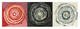 Target trio I Plakat af Nino Mustica