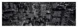 Midtown Manhattan at Night Posters av Richard Berenholtz