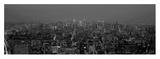 Manhattan at Dusk, NYC Posters av Richard Berenholtz