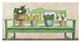 Jardin Francais Prints by Remy Dellal