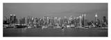 Manhattan Skyline, NYC Poster av Richard Berenholtz
