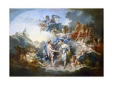 Marriage of Cupid and Psyche Posters par Francois Boucher