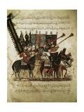 The Guards of the Caliph, Assemblies of Al-Hariri Posters by Yahya ibn Mahmud Al-Wasiti