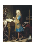 Charles III of Spain as a Child Prints by Jean Ranc