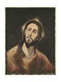 The Saviour Láminas por  El Greco