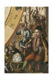 Tycho Brahe's Planisphere Posters por Andreas Cellarius