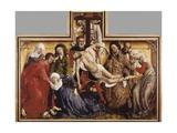 Déposition de croix Affiches par Rogier van der Weyden