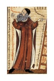 Ramon Llull (1232-1315) Majorcan Writer, Philosopher, and Franciscan Tertiary Kunst