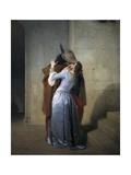 The Kiss Art by Francesco Hayez