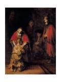 Return of the Prodigal Son Affiches par  Rembrandt van Rijn
