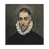 Portrait of an Unknown Gentleman Láminas por  El Greco