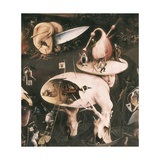 Garden of Earthly Delights Poster af Hieronymus Bosch