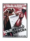 Republican Spanish Civil War Poster Prints by E. Vicente