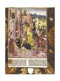 Allegory of Charlemagne's Reign Poster von Antoine Verard