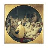 The Turkish Bath Kunst von Jean-Auguste-Dominique Ingres