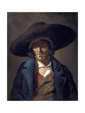 Portrait of a Man Called Le Vendeen Prints by Théodore Géricault