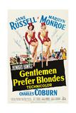 Herrar föredrar blondiner Planscher