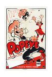 Popeye (Left) Poster