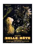 Belle en het Beest Affiches