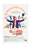 Willy Wonka and the Chocolate Factory Plakater