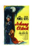 Johnny O'Clock Affischer