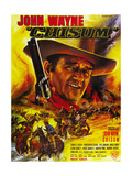 Chisum King of Pecos Poster