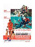 007 サンダーボール作戦(1965年) ポスター