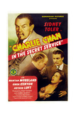 Charlie Chan in the Secret Service Plakater