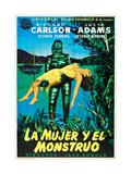 Creature from the Black Lagoon (aka La Mujer Y El Monstruo) Plakat