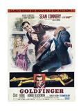 Agent 007 mot Goldfinger Plakat