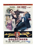 Agente 007, missione Goldfinger Poster