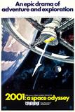 Rumrejsen år 2001, på engelsk Posters