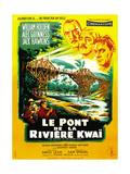 Il ponte sul fiume Kwai Poster