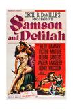 Sansão e Dalila Posters
