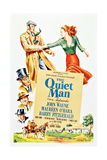 The Quiet Man Kunst