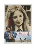 Woody Allen en Diane Keaton in Annie Hall Poster